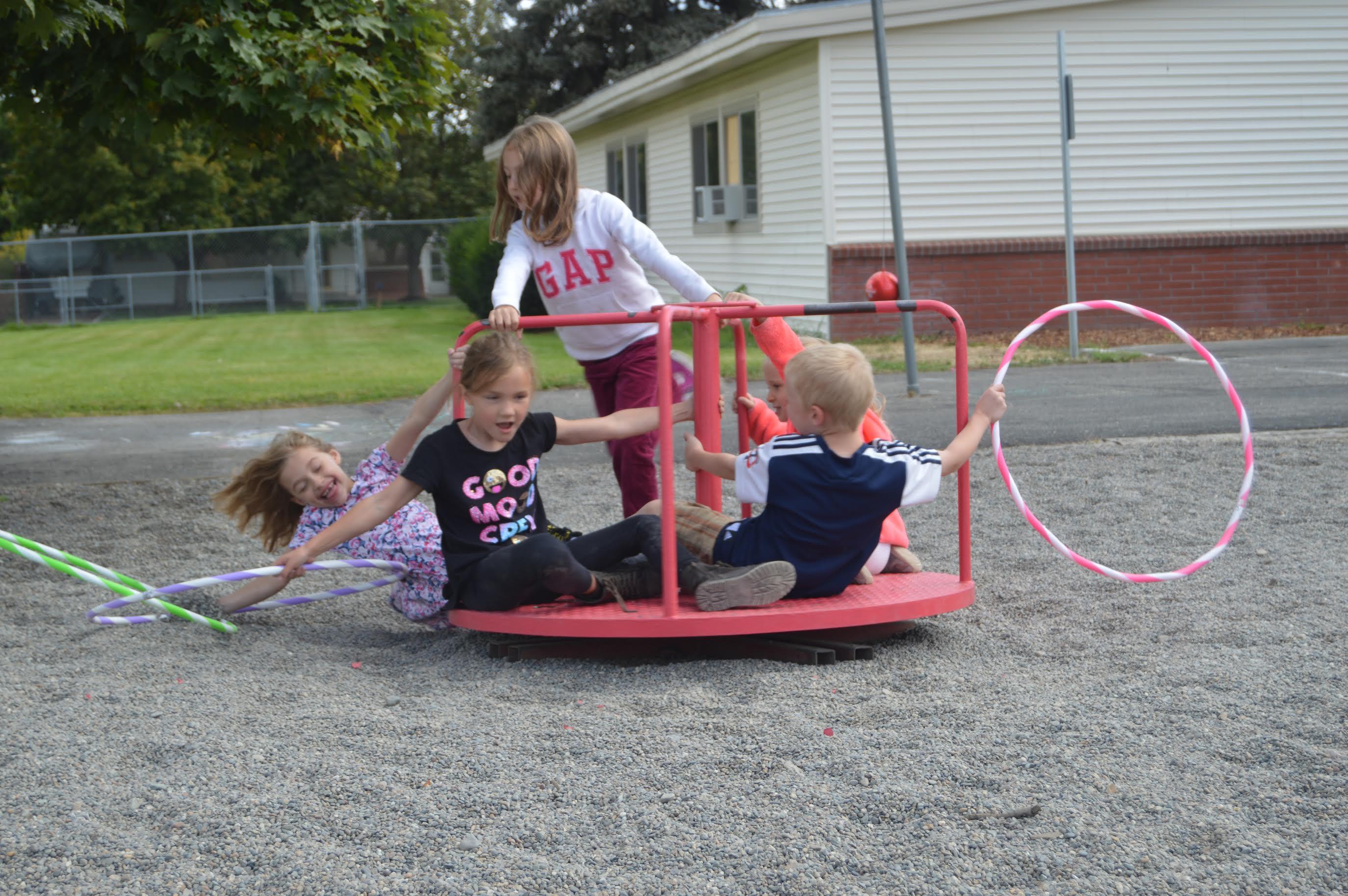 GLS kids playing
